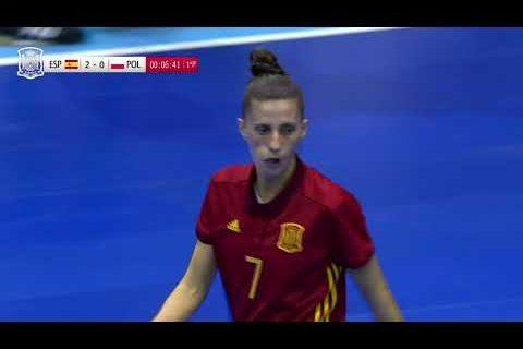 Resumen España 8-0 Polonia. Preeuropeo Femenino de Fútbol Sala