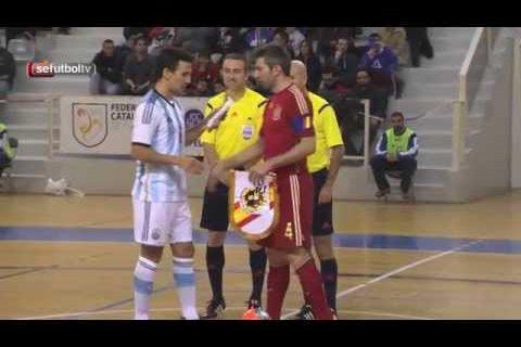 Resumen del España-Argentina de Fútbol Sala disputado en Cornellá