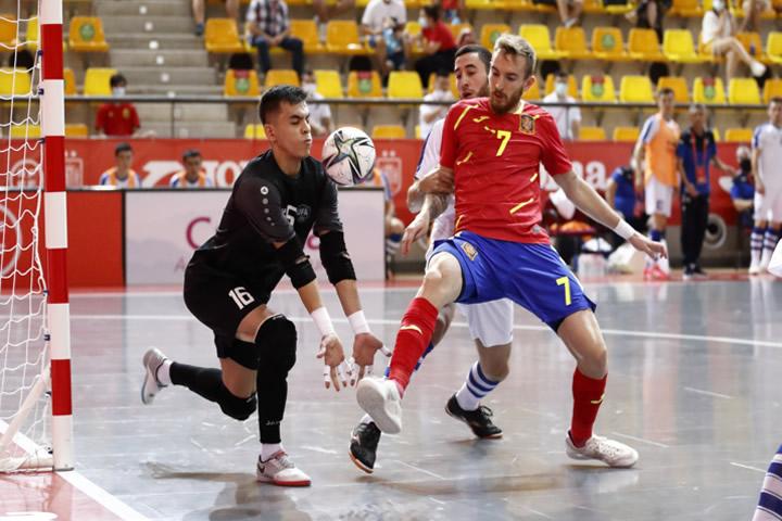 ESPAÑA vs UBEKISTAN