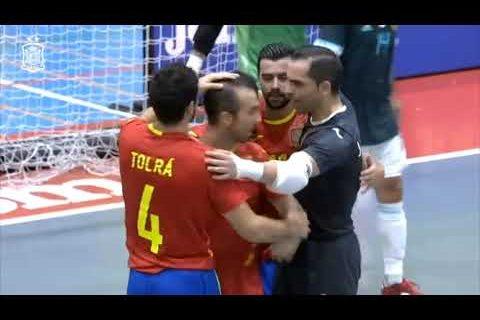 RESUMEN | Fútbol Sala | España 4-4 Argentina