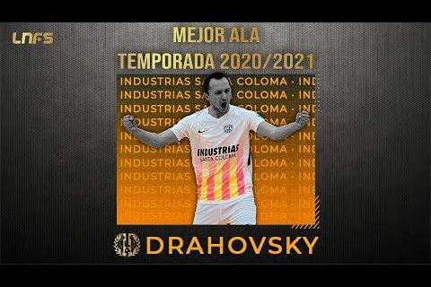 Drahovsky - Trofeo al '𝗠𝗲𝗷𝗼𝗿 𝗔𝗹𝗮' de la Temporada 2020/21