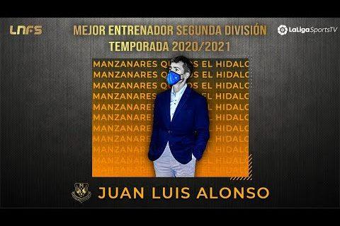 Juanlu Alonso - 𝗧𝗿𝗼𝗳𝗲𝗼 'LaLigaSportsTV al 𝗠𝗲𝗷𝗼𝗿 𝗘𝗻𝘁𝗿𝗲𝗻𝗮𝗱𝗼𝗿 de Segunda División' Temporada 2020/21