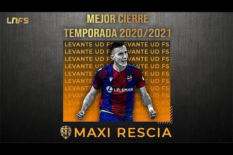 Maxi Rescia - Trofeo al '𝗠𝗲𝗷𝗼𝗿 𝗖𝗶𝗲𝗿𝗿𝗲' de la Temporada 2020/21