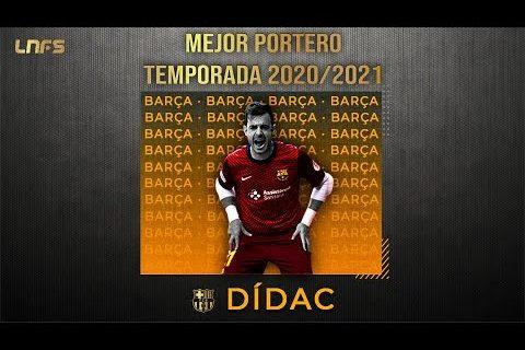 Dídac - Trofeo al '𝗠𝗲𝗷𝗼𝗿 𝗣𝗼𝗿𝘁𝗲𝗿𝗼' de la Temporada 2020/21